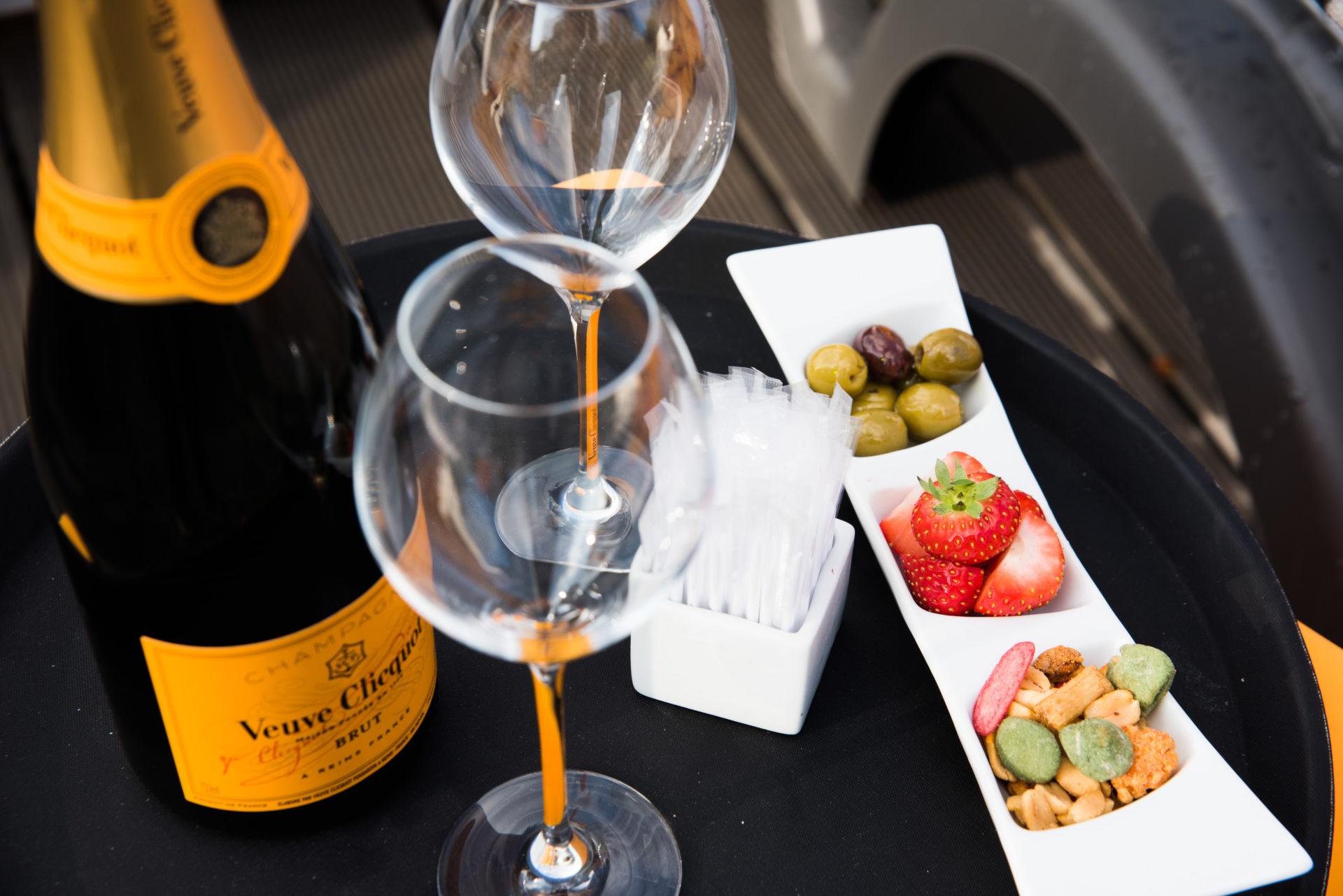 Soirée champagne
